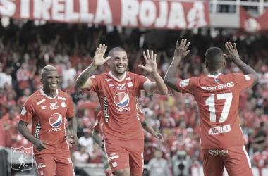 América 2-0 Medellín: así les fue a los jugadores del cuadro 'escarlata'