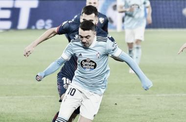 Imagen del RC Celta de Vigo vs SD Huesca / Twitter: RC Celta de Vigo