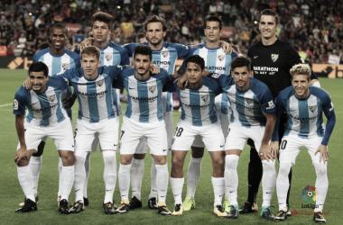 Puntuaciones mediocentros del Málaga en la temporada 2017-2018