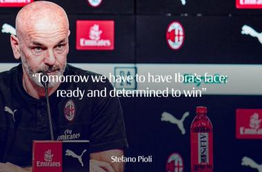 """Milan, vigilia del berby - Pioli in conferenza stampa: """"Dobbiamo avere la carica di Ibra domani"""""""