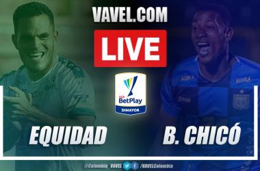 Resumen La Equidad vs Boyacá Chicó (2-1) en la fecha 10 por Liga BetPlay 2021-I