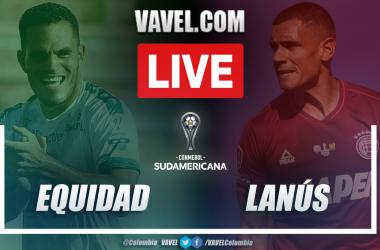 Resumen La Equidad vs Lanús (0-1)en la fecha 3 del grupo H por Copa Sudamericana 2021