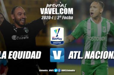 Previa La Equidad vs. Atlético Nacional: duelo de 'verdes' en la capital