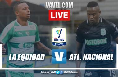 Resumen y goles: La Equidad 3-4 Atlético Nacional en Fecha 2 Liga BetPlay 2020-I