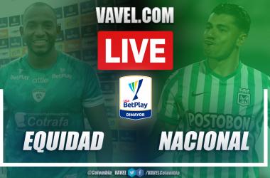 Resumen La Equidad vs Nacional (1-0) en los cuartos de final (ida) por Liga BetPlay 2021-I