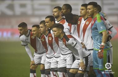 Titulares del Rayo Vallecano. Fotografía: La liga