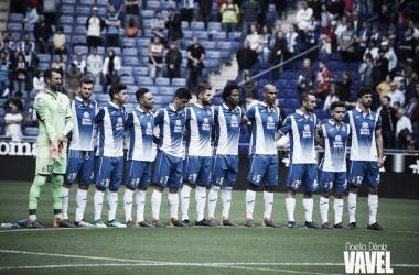 Los jugadores del RCD Espanyol. Foto: Noelia Déniz