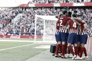 El Atlético de Madrid recibió al Betis en una tarde importante para ambos conjuntos/ Foto: Club Atlético de Madrid.<br>