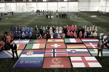 Presentación del Europe Sub-17 | Foto: sefutbol