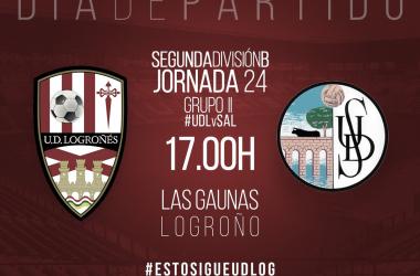 UD Logroñés - Salamanca CF: volver a ganar en Las Gaunas