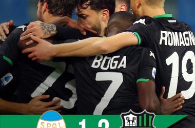 Il Sassuolo vince e convince: Caputo e Boga abbattono un'arcgina SPAL (1-2)