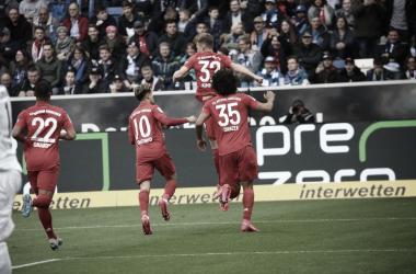 Una afición insuficiente para la grandeza del Bayern