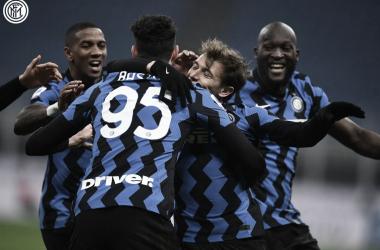 El Inter dio la talla en el Derby d'Italia y sueña en grande