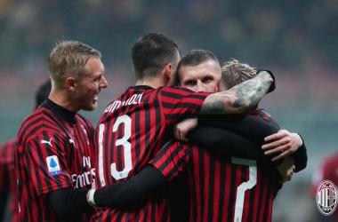Al Milan basta il solito Rebic: battuto il Torino