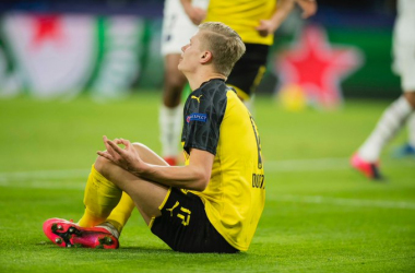 Haland mostruoso: Borussia Dortmund batte PSG 2-1