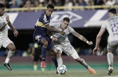 Boca goleó a Godoy Cruz y sueña con la Superliga