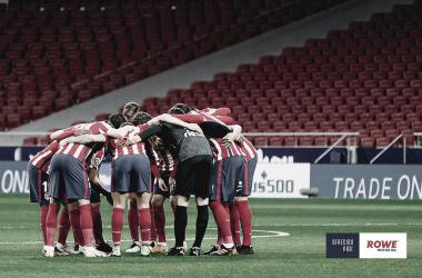 Con goles de Correa y Saúl, el Atlético de Madrid vence al Sevilla. / Twitter: Atlético de Madrid oficial