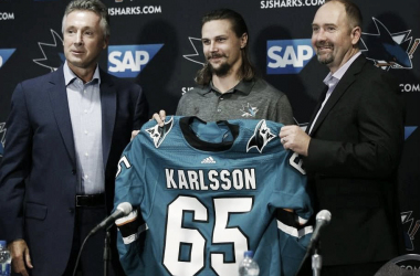 Erik Karlsson San Jose Sharks (Photo Courtesy of Torontosun.com)