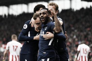 Un doblete de Eriksen concede los tres puntos al Tottenham