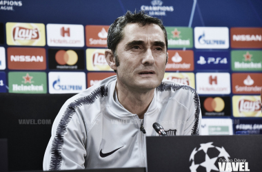 """Ernesto Valverde: """"Tenemos presión por pasar"""""""