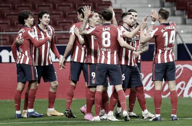 El Atlético de Madrid derrotó al Sevilla y se proclamó campeón de Invierno. / Twitter: Atlético de Madrid oficial