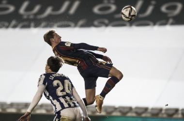 De Jong en el 0-1. Fuente: FCBarcelona