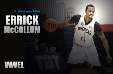 VAVEL USA exclusive: Errick McCollum more than comfortable as the epitome of Overseas Elite