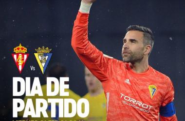 "Previa Sporting de Gijón - Cádiz CF: a la conquista de otro templo ""colorao"""