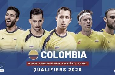 Colombia anunció su equipo para los Qualifiers de la Copa Davis