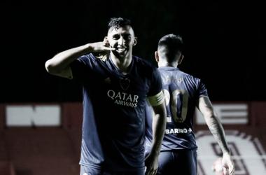 Ábila lleva 36 goles en 81 partidos con la camiseta de Boca. Foto: Boca Juniors Oficial.