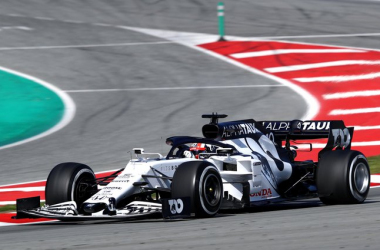 Test Formula 1, Day-5: Vettel davanti, sugli scudi Alpha Tauri e Racing Point