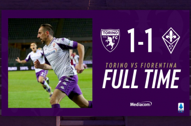 Goal, cartellini e tensione: finisce 1-1 tra Torino e Fiorentina