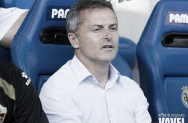 Fran Escribá durante un partido | Fotografía: Mª José Segovia