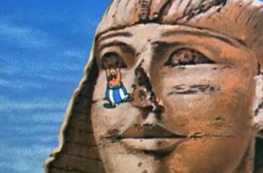 """Escena de """"Asterix y Cleopatra"""" (1968)   Fuente: Película"""