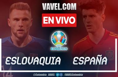 Resumen España vs Eslovaquia (0-5) por Eurocopa 2020