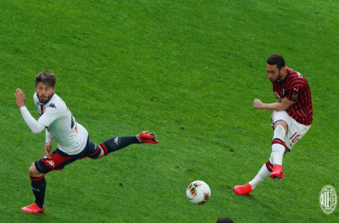 Il Genoa passa a San Siro: battuto il Milan 2-1