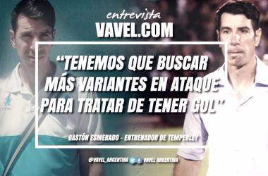 Gastón Esmerado, en exclusiva con VAVEL. Foto | VAVEL.