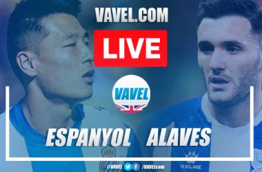 As it happened: Espanyol breeze past 10-man Alaves on La Liga return
