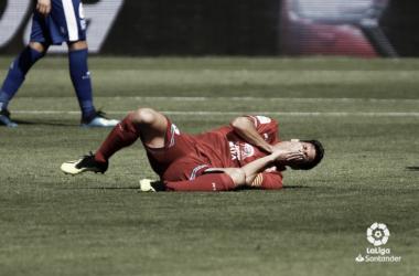 Los jugadores del Espanyol terminaron desesperados. Foto: Twitter de La Liga.