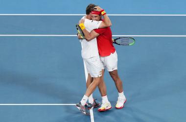 Carreño y Nadal sobreviven a un bombardeo para meter a España en semifinales de la ATP cup