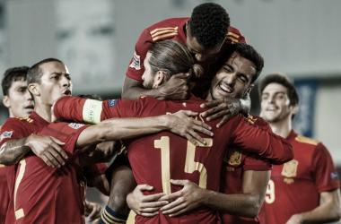 Espanha domina Ucrânia e lidera grupo da Alemanha na Nations League