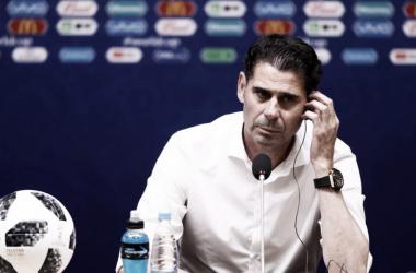 Hierro sabe que su equipo debe mejorar si quiere llegar a las instancias definitivas (Foto: Sitio Oficial FIFA)