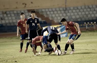 Jugadores de la selección sub-19 española. Fotografía: Federación Tinerfeña de Fútbol.