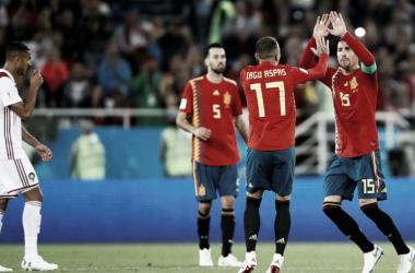 Con muchos altibajos, España pasó a la siguiente ronda (Foto: Sitio Oficial FIFA)