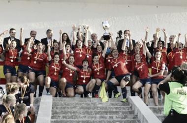España en el Campeonato de Europa 2016. Foto: ferugby.es
