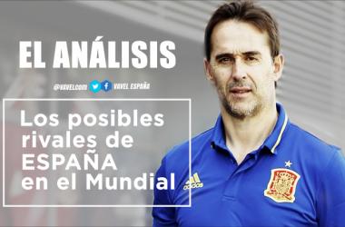 Análisis: posibles rivales de España en el Mundial de Rusia 2018