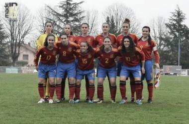 La sub-17, confiada en sus posibilidades para la Euro de Inglaterra (Foto: elrincondediegoneto.blogspot.com).