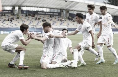 Resumen España sub 21 vs Portugal sub 21 (0-1) en la Eurocopa sub 21