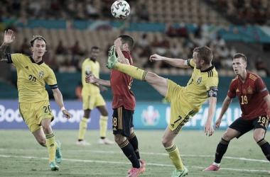 España vs Suecia, jornada 1 Eurocopa // Fuente: SEFUTBOL