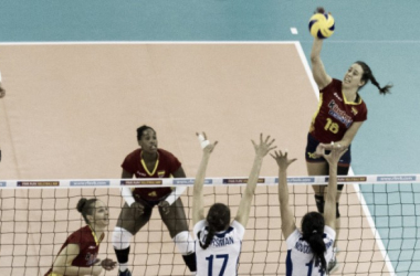 España ante Ucrania en Guadalajara. Foto: rfevb.com